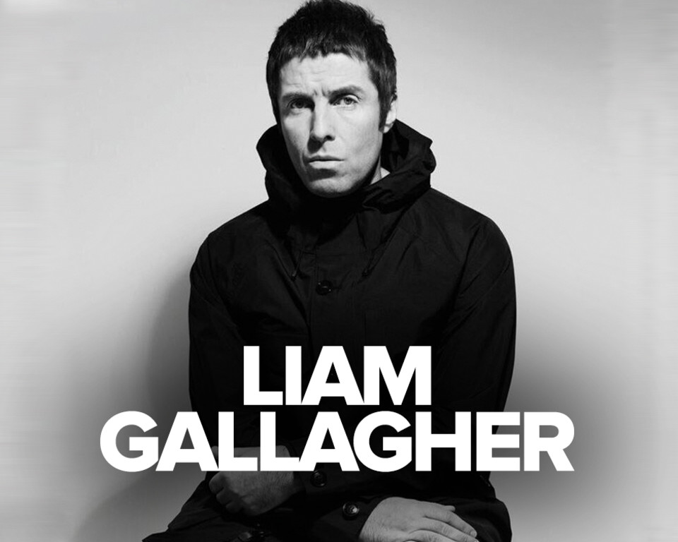 Liam Gallagher banner