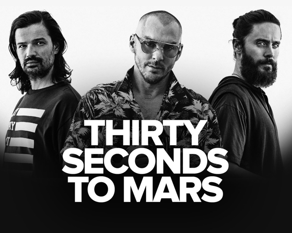 Thirty seconds from mars banner